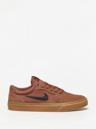 Topu00e1nky Nike SB Chron Solarsoft (lt british tan/black gum light brown)
