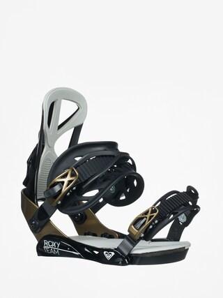 Snowboardovu00e9 viazanie Roxy Team Wmn (black)