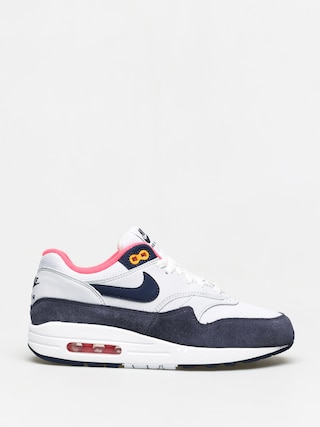 Topu00e1nky Nike Air Max 1 Wmn (white/midnight navy pure platinum)
