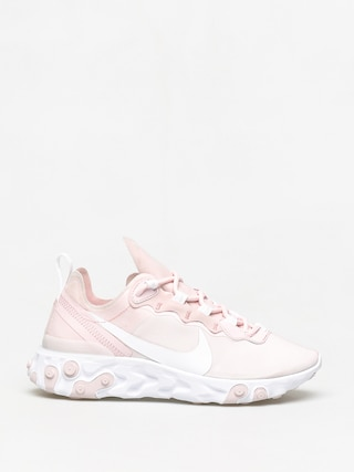 Topánky Nike React Element 55 Wmn (pale pink/white white pale pink)