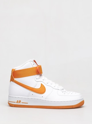 Topu00e1nky Nike Air Force 1 High Wmn (white/orange peel campfire orange)