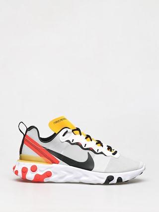 Topu00e1nky Nike React Element 55 (white/black bright crimson)