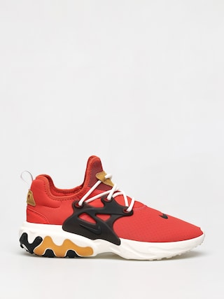 Topu00e1nky Nike React Presto (habanero red/black wheat sail)