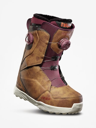 Obuv na snowboard ThirtyTwo Lashed Double Boa Wmn (brown)