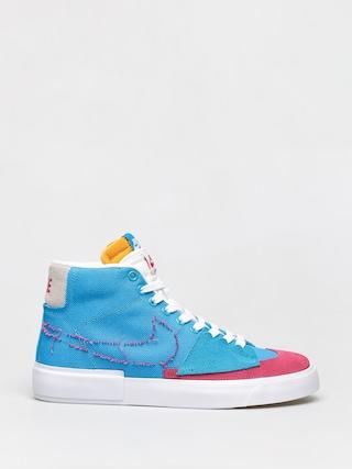 Topu00e1nky Nike SB Zoom Blazer Mid Edge (laser blue/watermelon university gold)