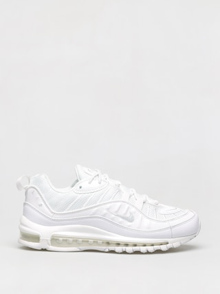 Topu00e1nky Nike Air Max 98 (white/pure platinum black reflect silver)