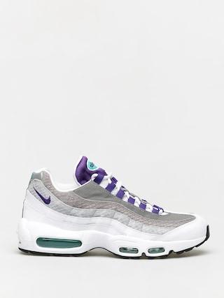 Topu00e1nky Nike Air Max 95 Lv8 (white/court purple emerald green)