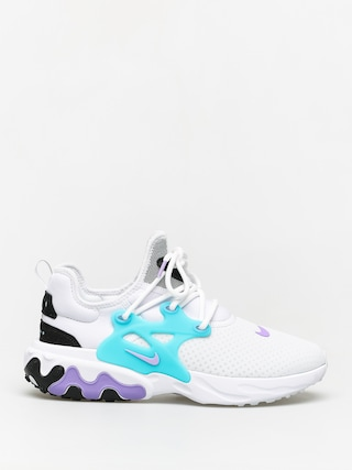 Topu00e1nky Nike React Presto (white/night maroon black atomic violet)