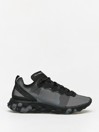 Topu00e1nky Nike React Element 55 (black/dark grey)