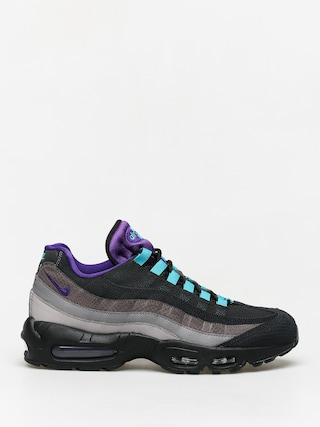 Topu00e1nky Nike Air Max 95 Lv8 (black/court purple teal nebula)