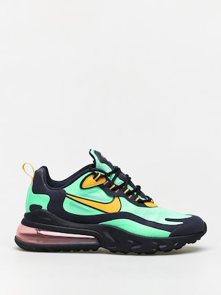 Topu00e1nky Nike Air Max 270 React (electro green/yellow ochre obsidian)