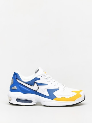 Topu00e1nky Nike Air Max2 Light Prm (white/white university gold game royal)