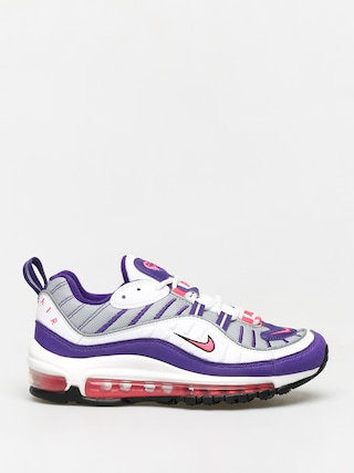 Topu00e1nky Nike Air Max 98 Wmn (white/racer pink reflect silver black)