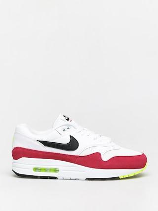 Topu00e1nky Nike Air Max 1 (white/black volt rush pink)