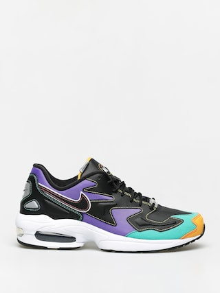 Topu00e1nky Nike Air Max2 Light Prm (black/flash crimson kinetic green)