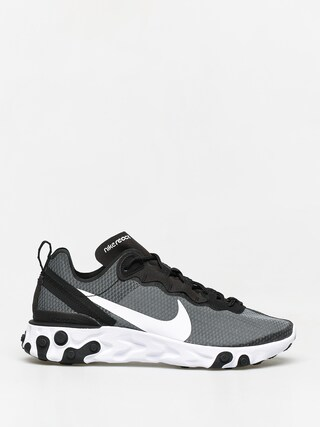Topu00e1nky Nike React Element 55 Se (black/white)