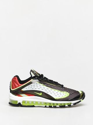 Topu00e1nky Nike Air Max Deluxe (black/volt habanero red white)