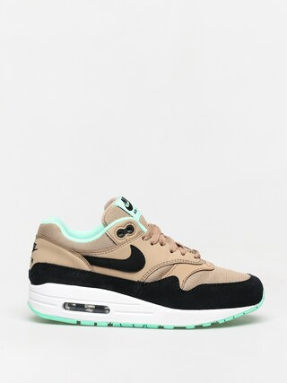 Topu00e1nky Nike Air Max 1 Wmn (desert/black green glow white)