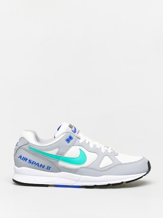 Topu00e1nky Nike Air Span II (wolf grey/clear emerald white racer blue)