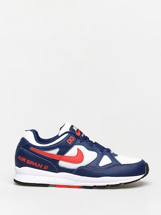 Topánky Nike Air Span II (blue void/habanero red white black)