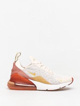 Topu00e1nky Nike Air Max 270 Wmn (light cream/metallic gold terra blush)
