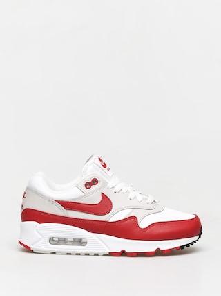 Topu00e1nky Nike Air Max 90/1 Wmn (white/university red neutral grey black)