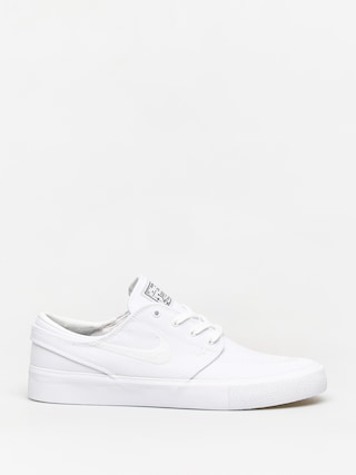 Topu00e1nky Nike SB Zoom Janoski Canvas Rm (white/white gum light brown black)