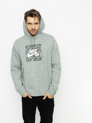 Mikina s kapucňou Nike SB Sb HD (dk grey heather/summit white)
