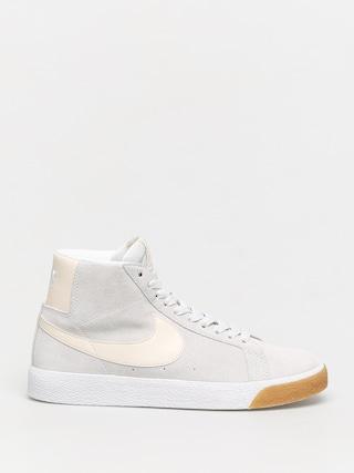 Topu00e1nky Nike SB Zoom Blazer Mid (photon dust/light cream white white)