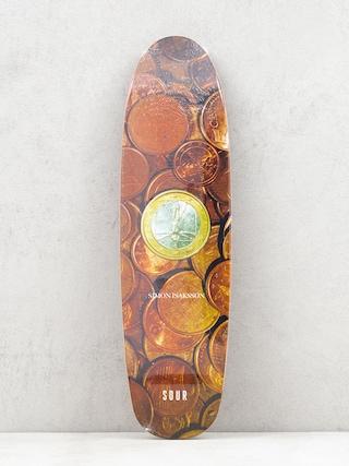 Doska Sour Solution Simon Coins Cruiser (brown)