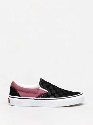 Topu00e1nky Vans Classic Slip On (deboss blkhthrrs)