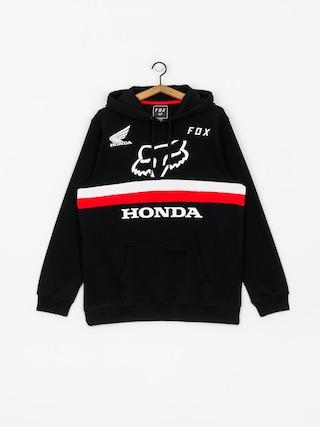 Mikina s kapucu0148ou Fox Honda HD (blk)