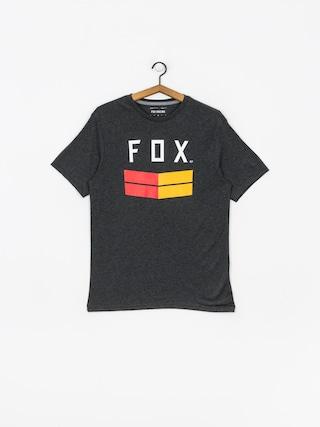Tričko Fox Frontier Tech (htr blk)