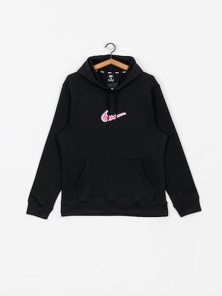 Mikina s kapucňou Nike SB Sb HD (black/white)