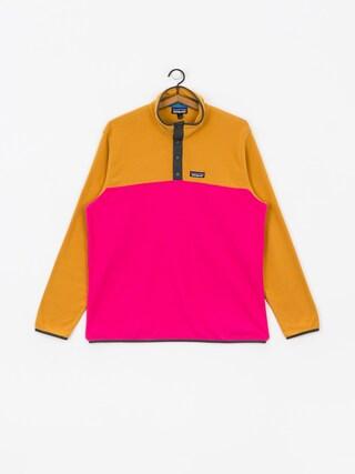 Flisovu00e1 mikina Patagonia Micro D Snap T (ultra pink)