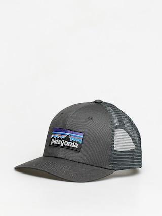 u0160iltovka Patagonia P 6 Logo Trucker ZD (forge grey)