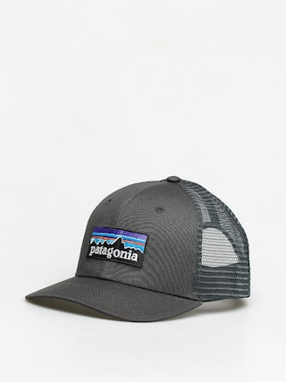 u0160iltovka Patagonia P6 Logo Trucker ZD (forge grey)