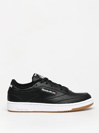 Topu00e1nky Reebok Club C 85 (black/white/gum)
