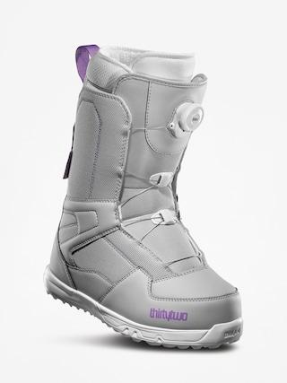Obuv na snowboard ThirtyTwo Shifty Boa Wmn (grey/purple)