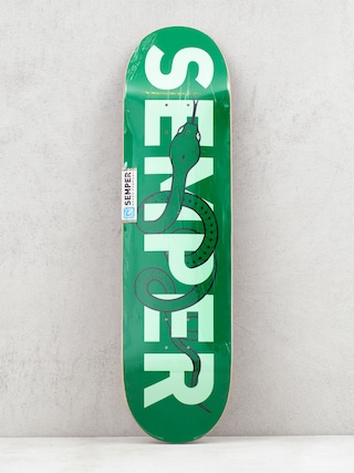 Doska Semper Skateboards Snake (green)