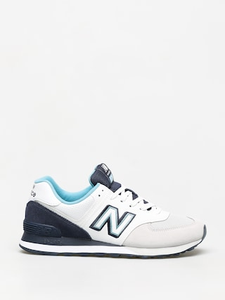 Topu00e1nky New Balance 574 (white/navy)