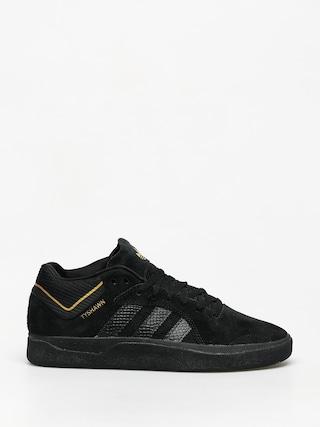 Topu00e1nky adidas Tyshawn (cblack/cblack/goldmt)