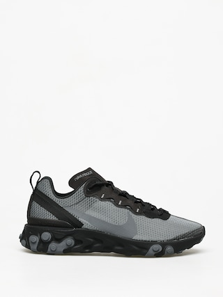 Topu00e1nky Nike React Element 55 Se (black/dark grey)