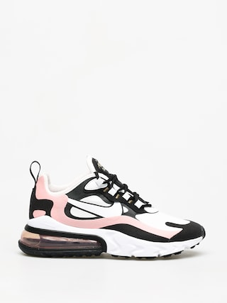 Topu00e1nky Nike Air Max 270 React Wmn (black/white bleached coral metallic gold)
