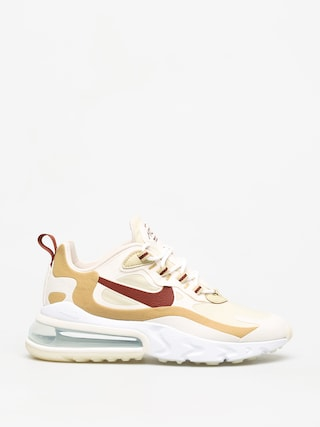 Topu00e1nky Nike Air Max 270 React Wmn (team gold/cinnamon club gold pale ivory)