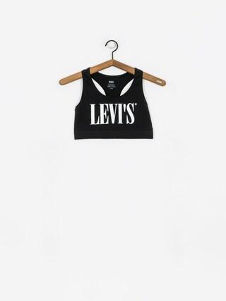 u0160portovu00e1 podprsenka Levi's Stanik Logo Sprots Bra Wmn (black)