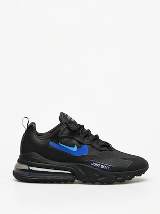 Topu00e1nky Nike Air Max 270 React (black/blue hero hyper royal cool grey)