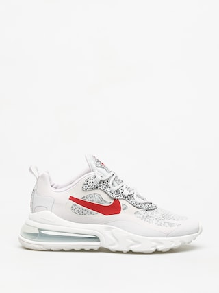 Topu00e1nky Nike Air Max 270 React (neutral grey/university red lt graphite)