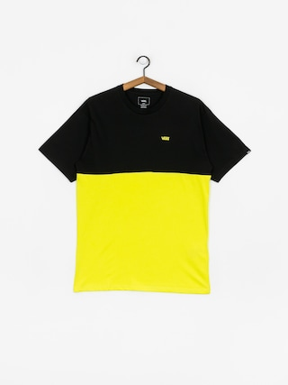 Tričko Vans Colorblock (sulphur spring/black)