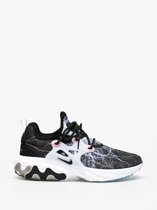 Topu00e1nky Nike React Presto (black/black white university blue)